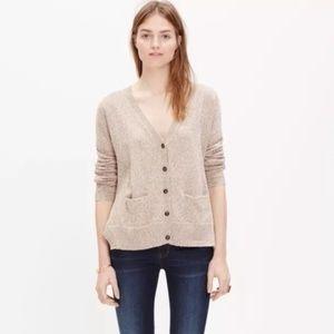 Madewell Landscape Cardigan Sweater M
